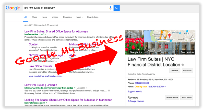 Что касается SEO, то если вы не в Google My Business, то у вас нет бизнеса